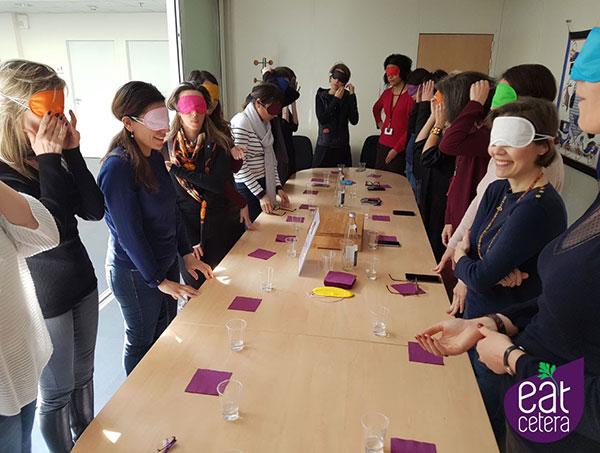 Organiser un blind test culinaire lors d'un séminaire