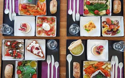 A quelles occasions commander un plateau-repas ?