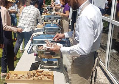 Buffet avec service Eatcetera